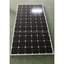 Montagem Monocromática de Painel Solar 300w no Pólo