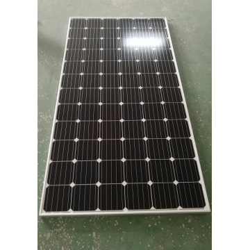 300w Mono Solar Panel Mounting on The Pole
