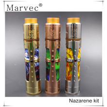 MARVEC Nazarene mechanical mod brass copper e cig
