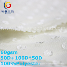 Polyester Chiffon Jacquard Fabric for Shirt Dress (GLLML342)