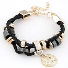 Pendentif Charms Bracelet Women′s de placage à l'or à la main VAGULA