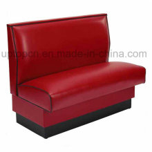 Wholesale Color Optional Restaurant Furniture Booth with PU Leather Upholstery (SP-KS119)