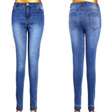 Оптовые женские джинсы с 5 карманами