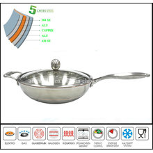 5ply Body Chinese Wok Range