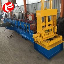 Aço galvanizado C terça rolo dá forma à máquina