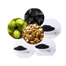 Оптовая высокое качество золота горнодобывающей скорлупы кокосового ореха гранулированный активированный уголь для продажи
