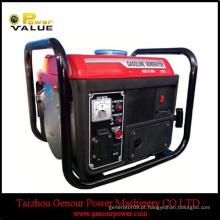 154F motor de gasolina, 950 650W pequeno gerador de gasolina fio de cobre, gerador de gasolina Pertable