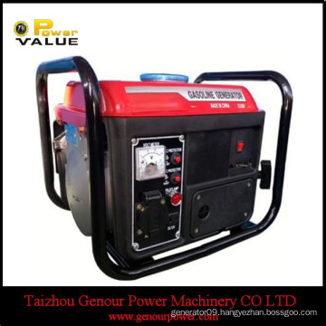 154F gasoline engine, 950 650W Small Gasoline Generator Copper Wire, Pertable Petrol Generator
