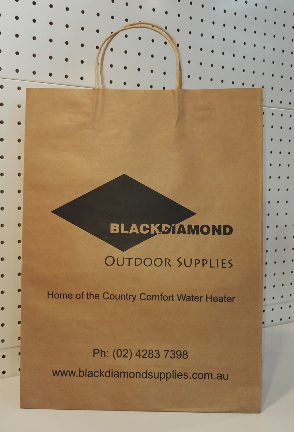 bolsa de papel kraft marrón-blackdiamond
