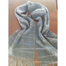 100% cashmere double-faced scarf
