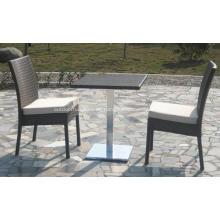 Juegos de mesa de muebles de ratán moderno Bar al aire libre