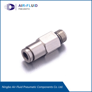 Air-Fluid Lbrication Push in Straight M8 thread Fittings.