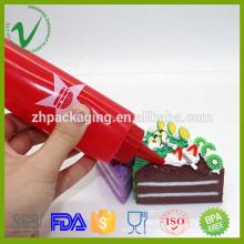 Embalaje de salsas de grado alimenticio LDPE redondo vacío 165ml botellas de plástico