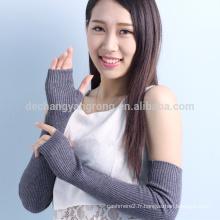 Meilleure vente hiver mode dames main tricoté gants de laine