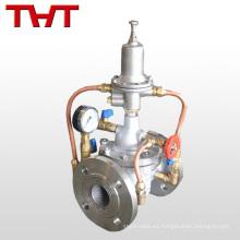 El control de flujo reduce la presión del agua Válvula