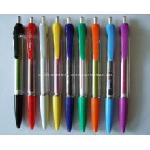 Logo promotionnel imprimé bannière stylos