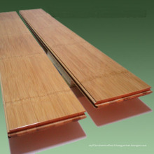Plancher de bambou solide horizontal carbonisé