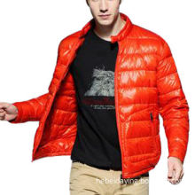 Men's Down Jacket with 50D Nylon Lining