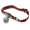 Red Fashion Leather Soft Ball Gag Bdsm Bondage Adult Sex Toy Hot Sex Position