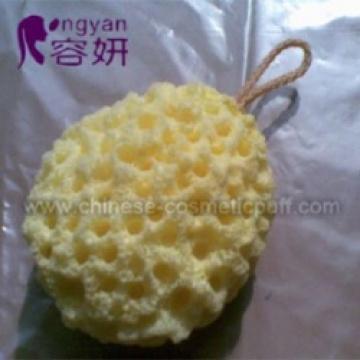 Éponge de bain de thé de chrysanthème 110x95x60mm