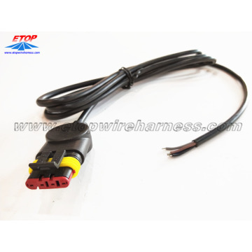 kabel gegoten met 282087-1 connector