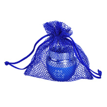 wholesale custom blue mesh onion string bags