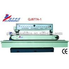 Мини-размер QJ877A-1 горизонтальной прямой линии стекло шлифовальный станок