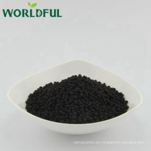 mundialful 2-4mm 50% HA + 10% K2O gránulo de potasa de ácido húmico