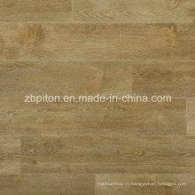 Tuile de plancher en vinyle PVC aspect bois