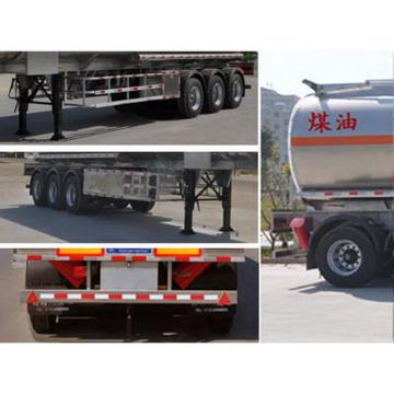 12.1m Aluminum Alloy Fuel Bowser Semi Trailer