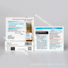 Injection de coenzyme Q10