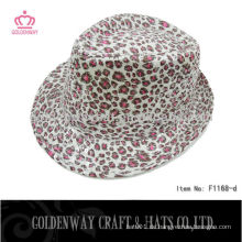 Billiger Leoparddruck Trilby Hut