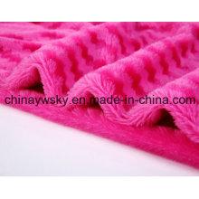 Tornillo Rose Fabric / Rose Fleece / PV paño grueso y suave / Toy Fabric