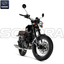 MASH TWO FIFTY 250 cc Noire Body Kit Ricambi originali