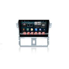 Kaier фабрика -четырехъядерный процессор -сенсорный экран андроид 4.4.2 автомобильный DVD для Toyota новые vios+ТМЗ+видеорегистратор +mirior ссылке +фабрики сразу
