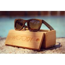 Деревянные солнцезащитные очки ручной работы из бамбука