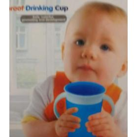 Magic leakproof drinking cup