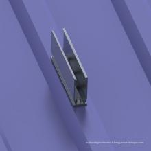 50KW Coût-enregistrer usine de montage de panneau solaire de toit de toit trapézoïdal