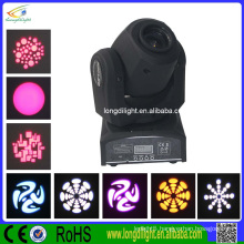 Party disco dj lighting 10W DMX mini gobo projector spot led moving head
