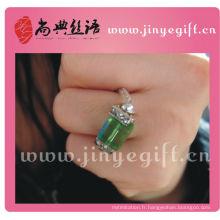 Bijoux à la mode Bagues en cristal à la main