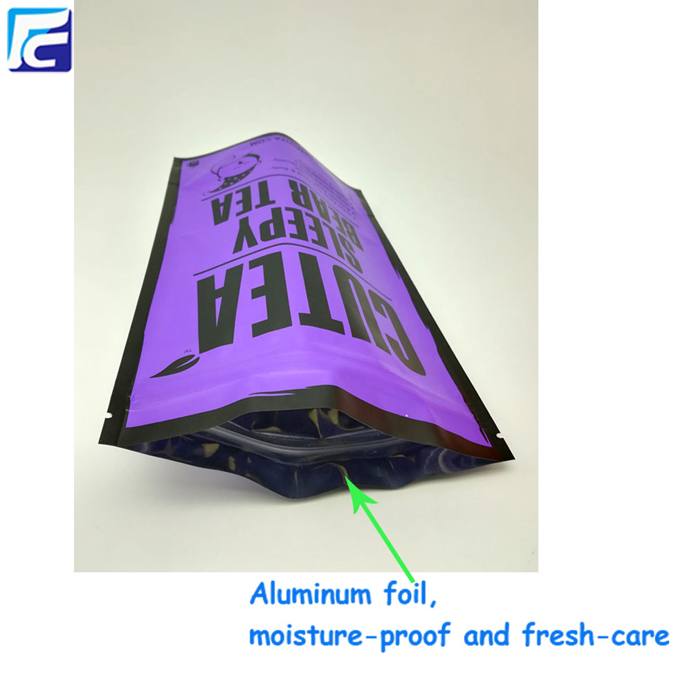 Aluminum foil packaging bag