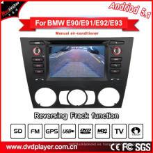 Navegador de coches DVD / GPS para BMW 3 E90 E91 E92 Sistema Android con conexión telefónica
