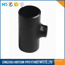 "Carbon Steel Sch40 18x8"" Tee Connector"