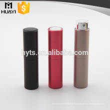 wholesale twist up round colored refillable perfume atomizers