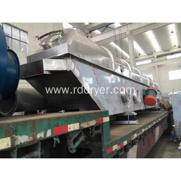 ZLG Continuous Vibrating fluid bed dryer machine for sugar, food, salt drying machine