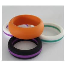 Модное мужское обручальное кольцо для большого пальца силикона