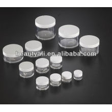 3 ml, 5 ml, 10 ml, 15 ml, 20 ml, 30 ml, 40 ml, 50 ml, 60 ml, 100 ml, 200 ml, 240 ml, 300 ml, 350 ml de PETG Cosmetic Jar