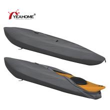 Allwetter-Hochleistungs-Kajak- / Kanuabdeckung Wasserdichte UV-Schutzbootabdeckung