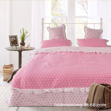 Cheap Price Cotton Bedlinen with Printed Fabric