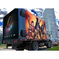 Hoge helderheid Mobiele LED scherm Trailer Adverteren Display